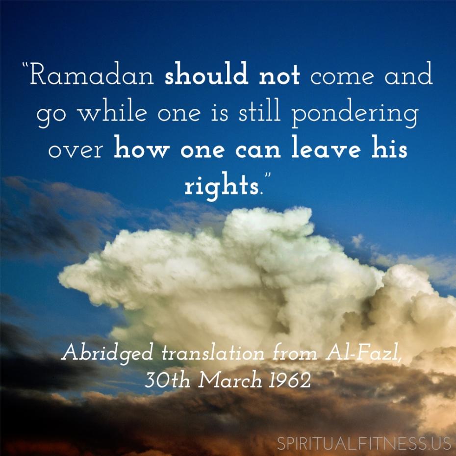 ramadan day 8